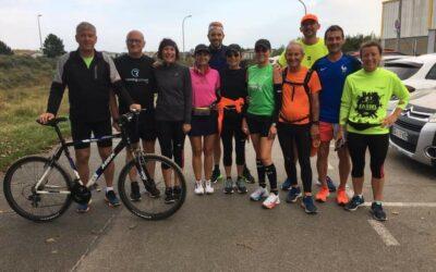 l'USLJ en fin de préparation pour le marathon de Paris